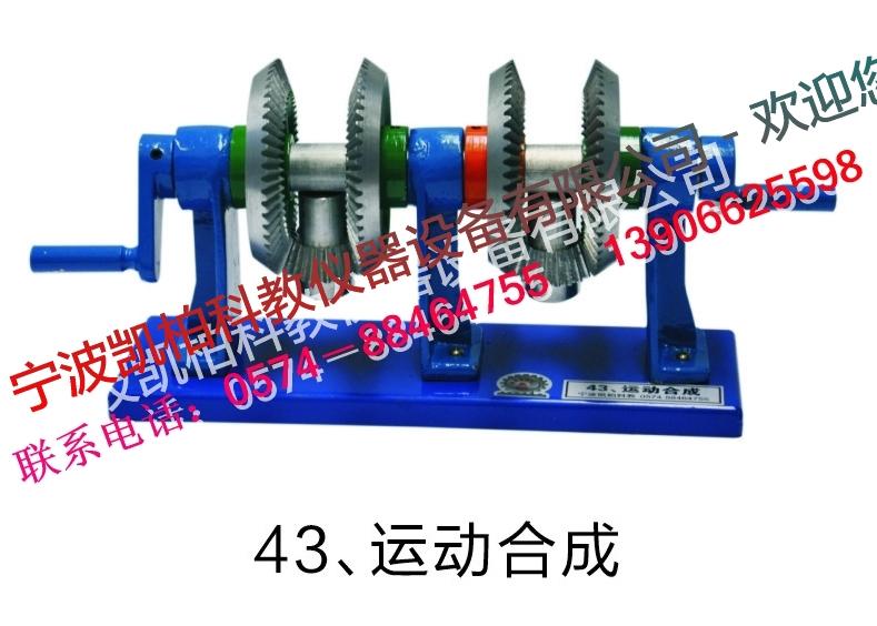 2 圆柱斜齿轮传动 32 偏心轮机构 3 圆柱内齿合齿轮传动 33 四杆机构
